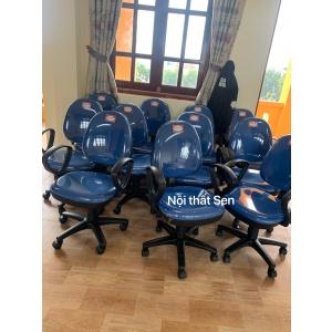 ghế xoay nhân viên Hòa phát có tay SG550
